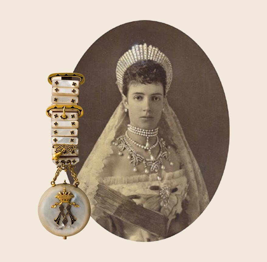 Empress Maria Feodorovna Empress of Russia portrait 19th century